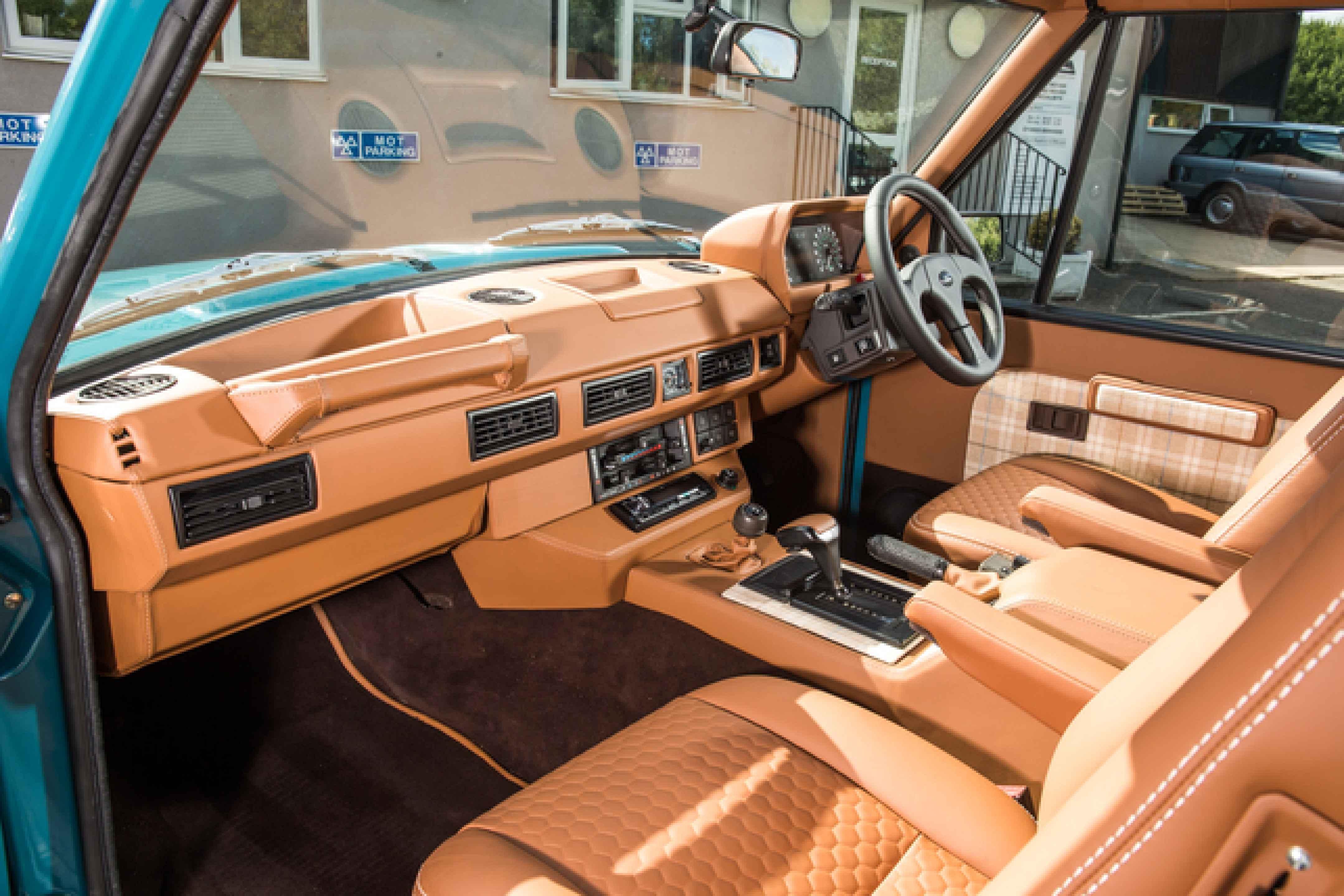 Leather Repair Kit RANGE ROVER BLACK Interior Seats /& Trim